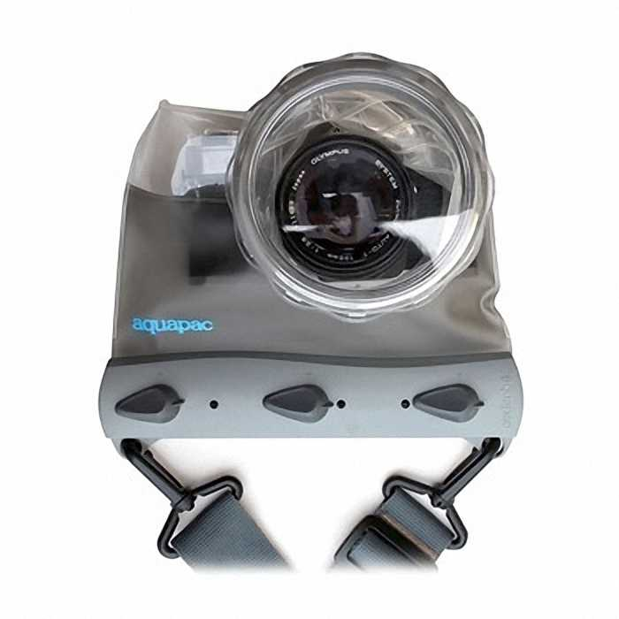 Водонепроницаемый чехол Aquapac 451 - Compact System Camera Case (Cool Grey)