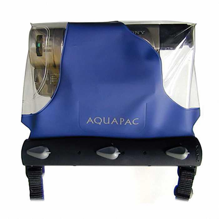 Водонепроницаемый чехол Aquapac 461 - Barrel camcoder Case (Blue)