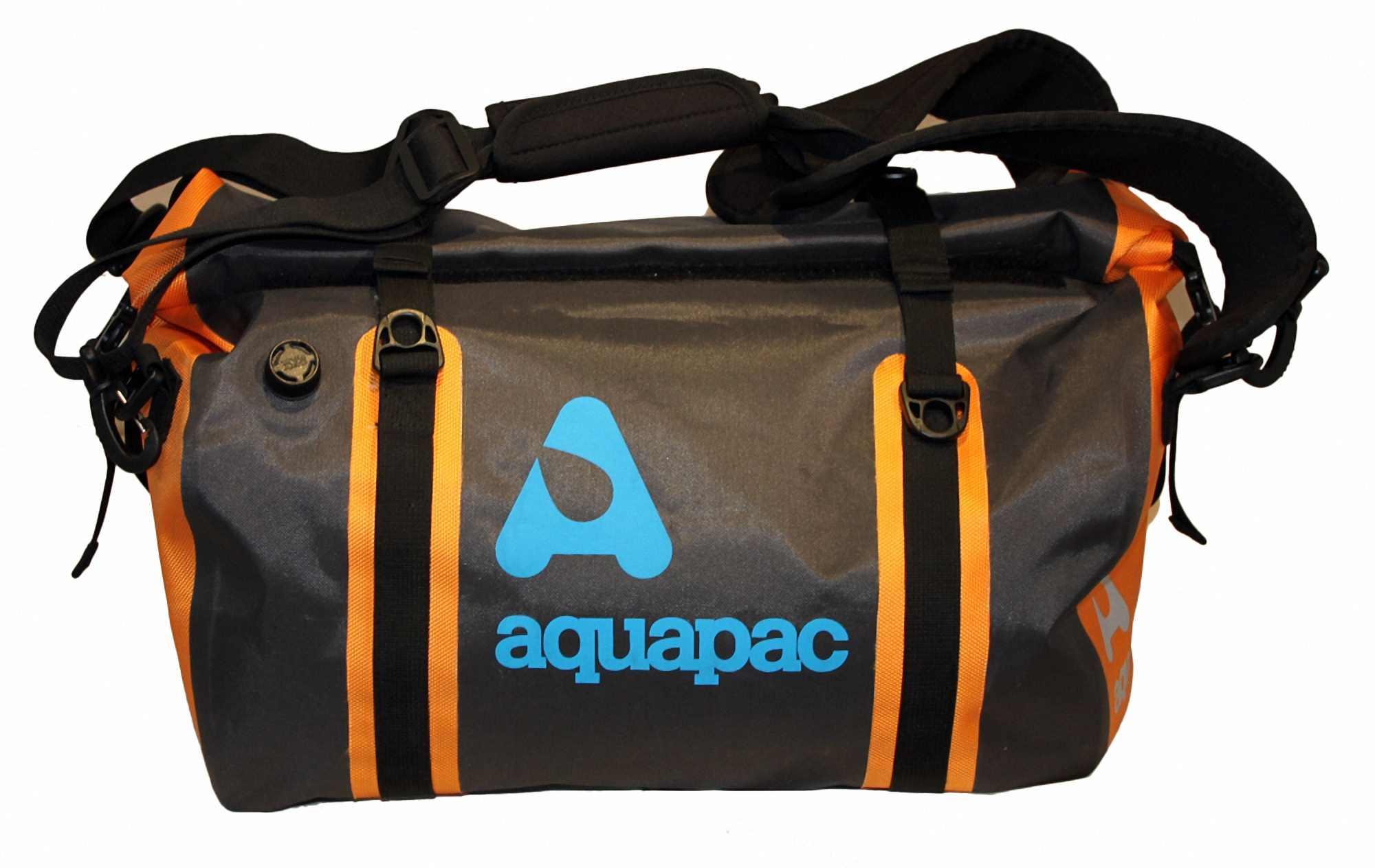 Водонепроницаемая сумка-рюкзак Aquapac 701 - Upano Waterproof Duffel - 40L.. Aquapac - №1 в мире водонепроницаемых чехлов и сумок. Фото 9