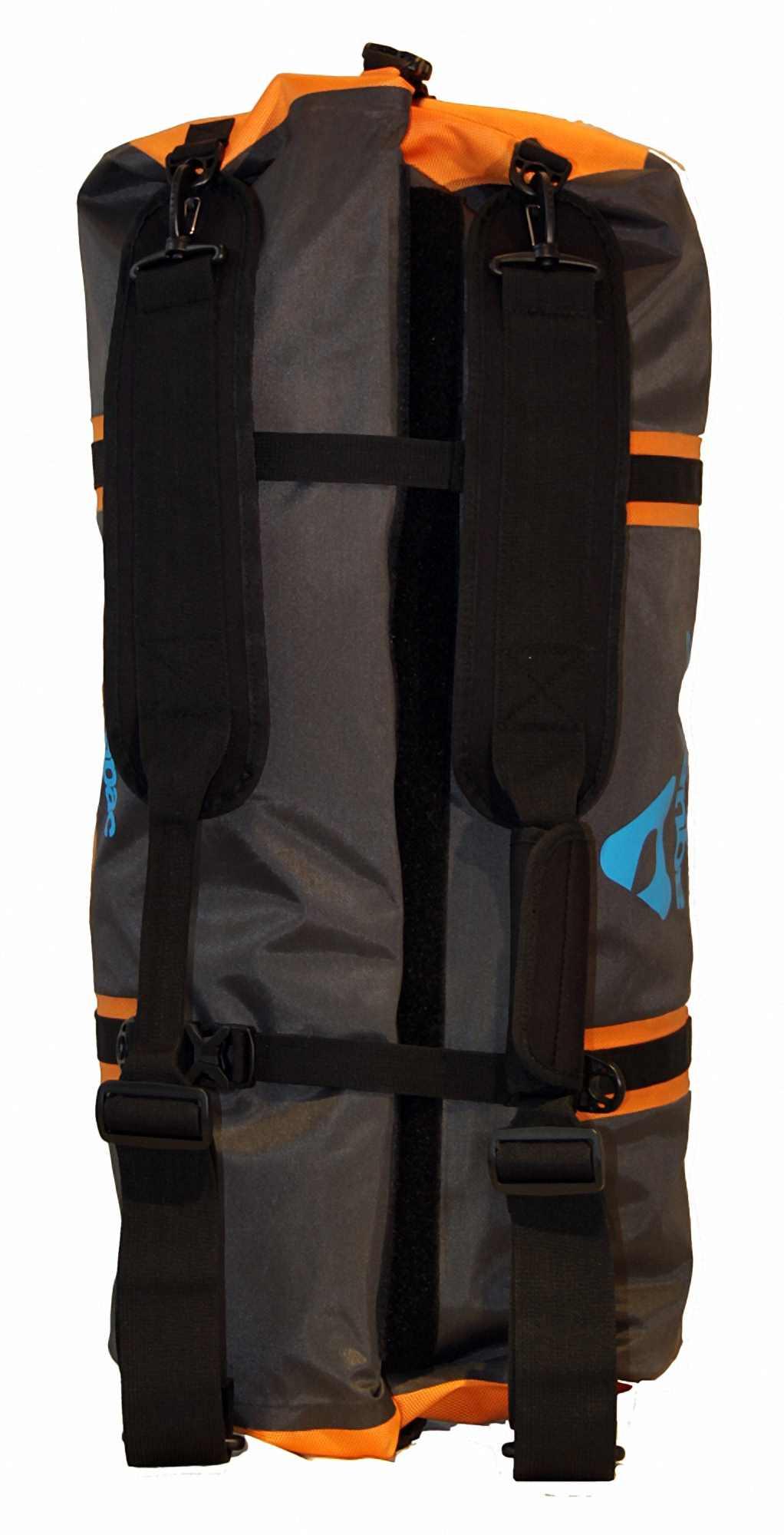 Водонепроницаемая сумка-рюкзак Aquapac 703 - Upano Waterproof Duffel - 70L.. Aquapac - №1 в мире водонепроницаемых чехлов и сумок. Фото 8