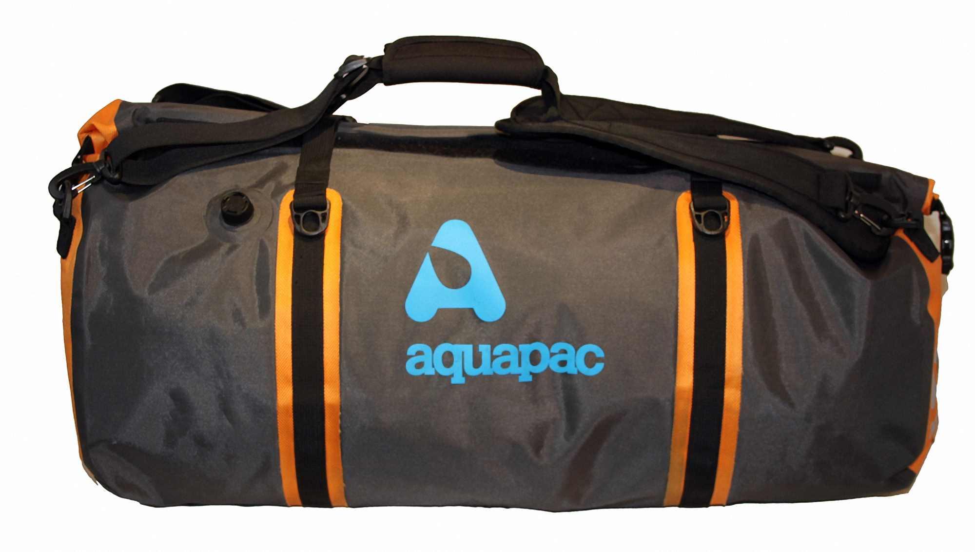 Водонепроницаемая сумка-рюкзак Aquapac 703 - Upano Waterproof Duffel - 70L.. Aquapac - №1 в мире водонепроницаемых чехлов и сумок. Фото 9