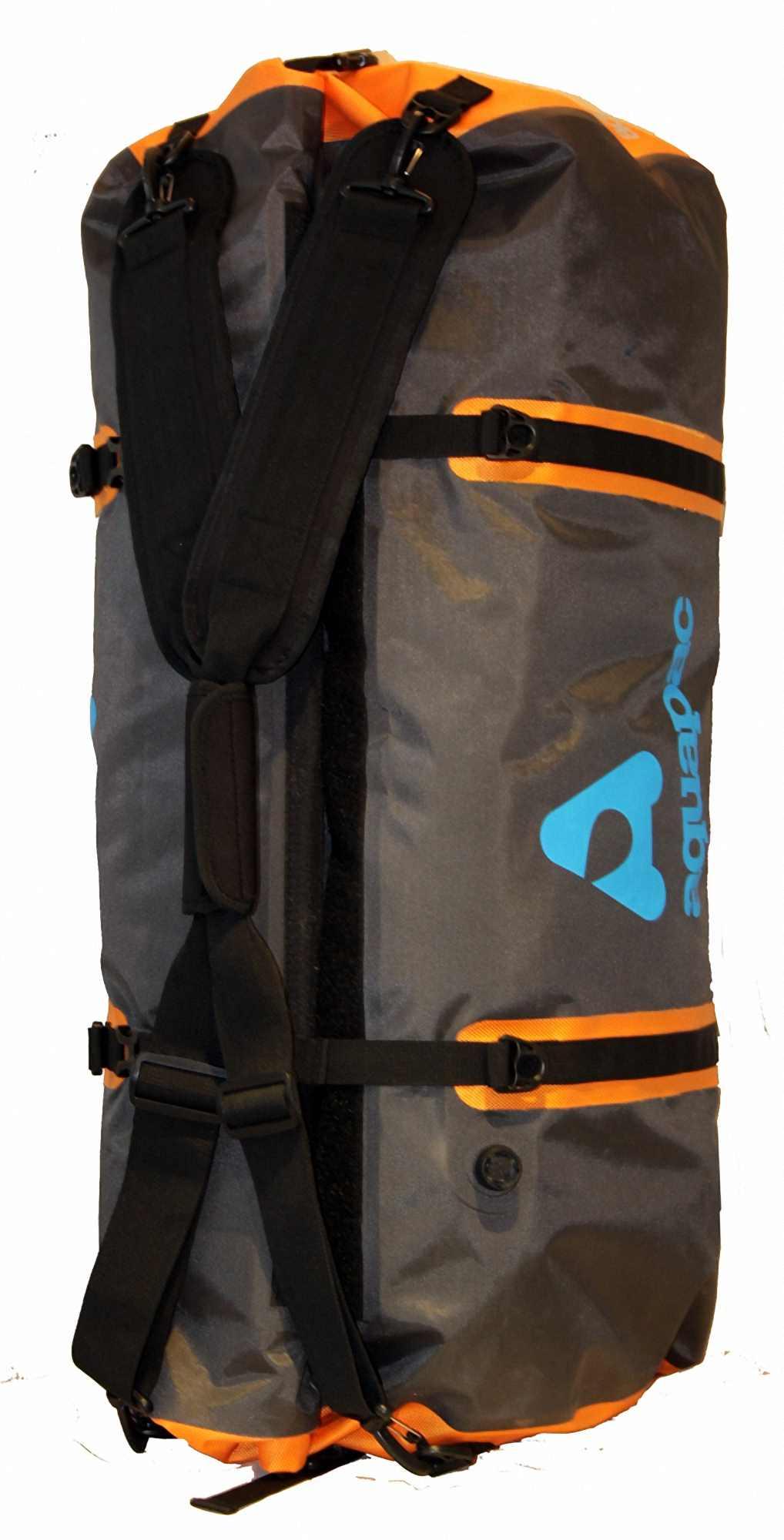 Водонепроницаемая сумка-рюкзак Aquapac 705 - Upano Waterproof Duffel - 90L.. Aquapac - №1 в мире водонепроницаемых чехлов и сумок. Фото 10