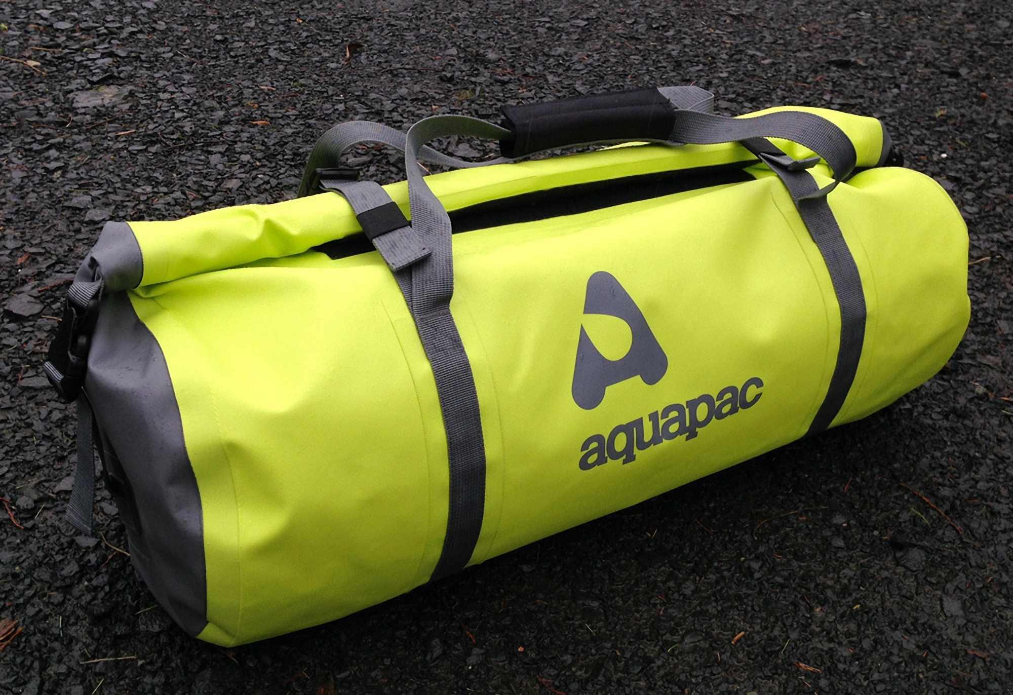 Водонепроницаемая сумка Aquapac 721 - TrailProof Duffels - 40L.. Aquapac - №1 в мире водонепроницаемых чехлов и сумок. Фото 1