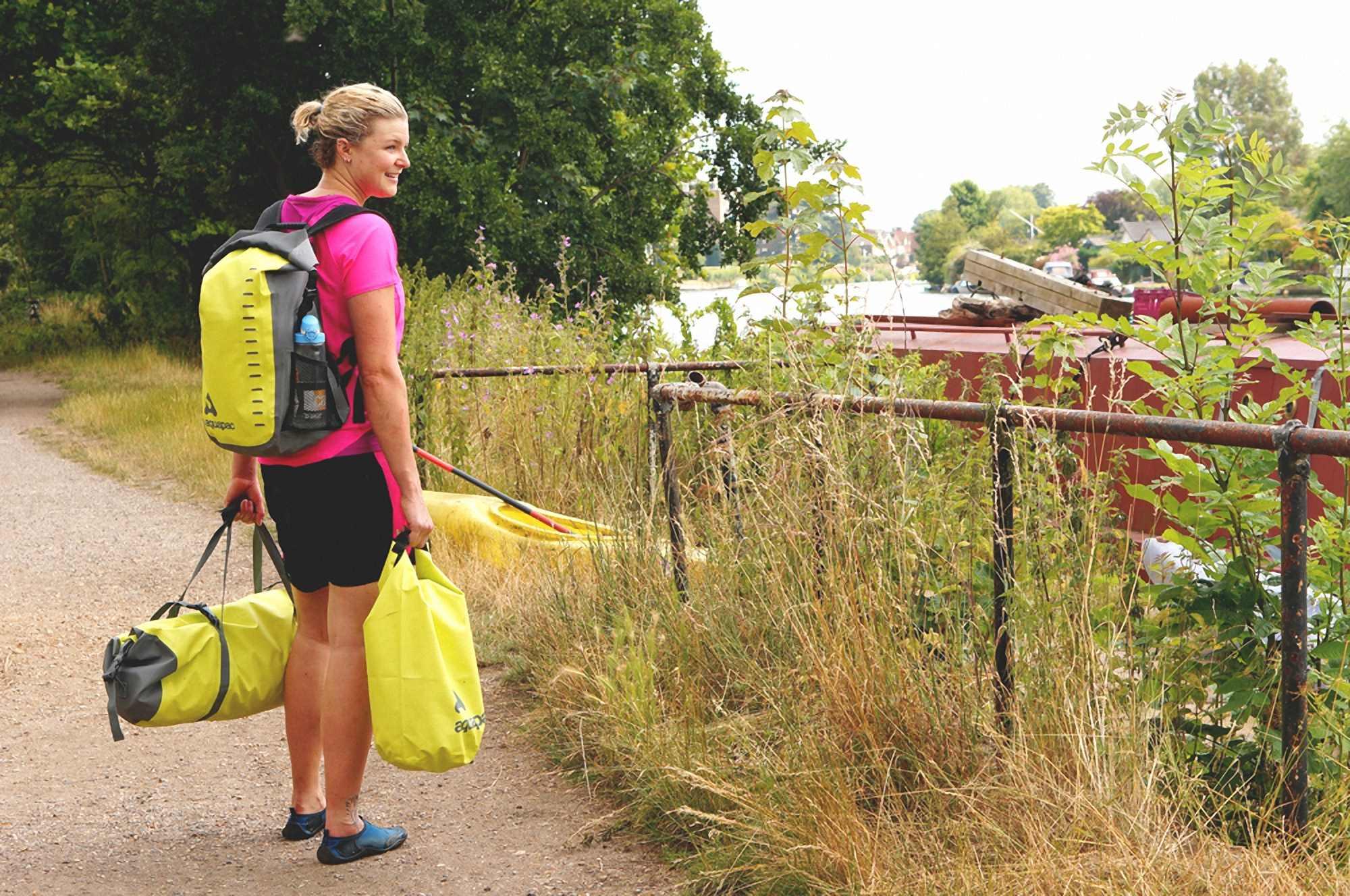 Водонепроницаемая сумка Aquapac 721 - TrailProof Duffels - 40L.. Aquapac - №1 в мире водонепроницаемых чехлов и сумок. Фото 6
