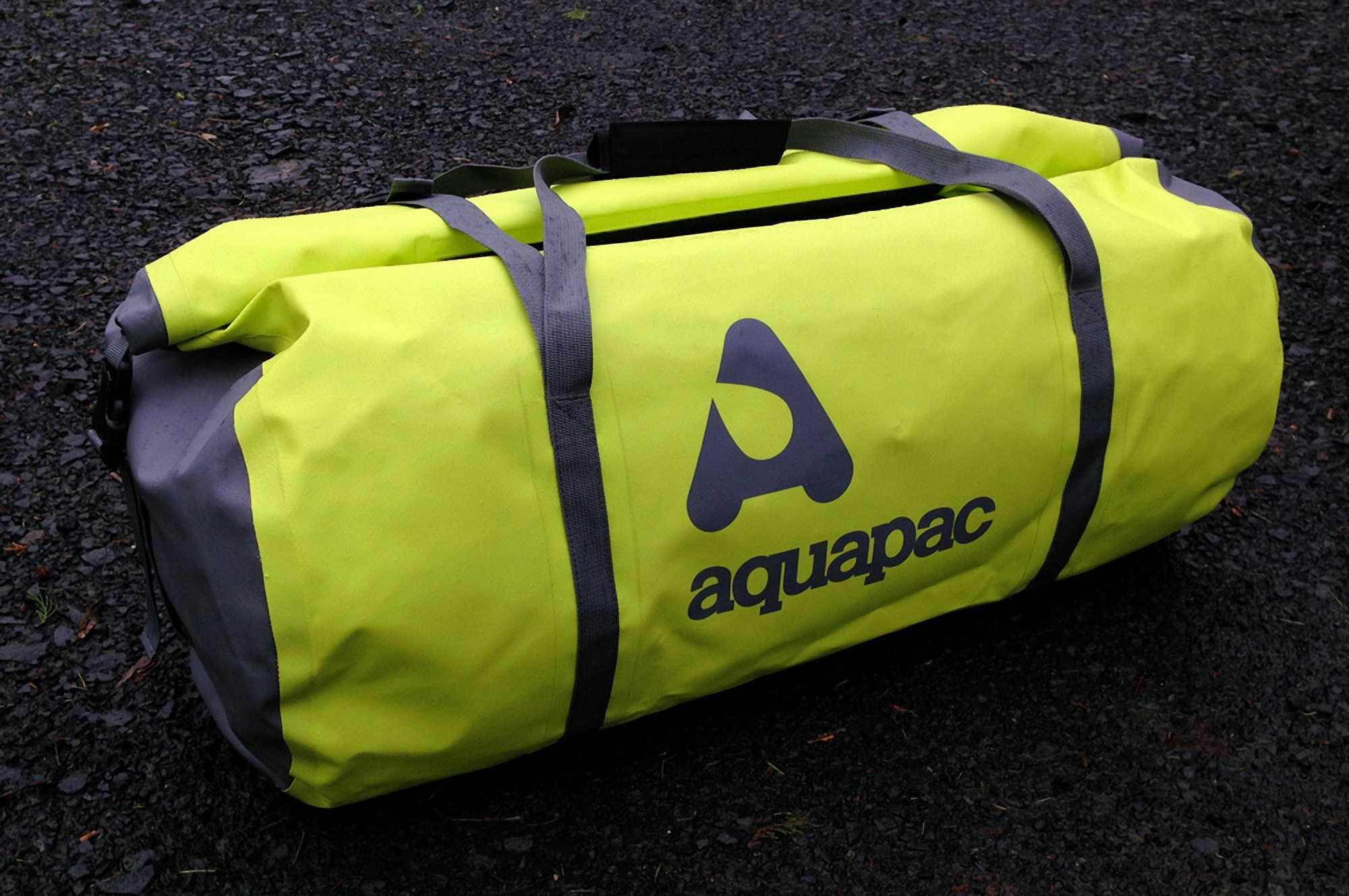 Водонепроницаемая сумка Aquapac 723 - TrailProof Duffels - 70L.. Aquapac - №1 в мире водонепроницаемых чехлов и сумок. Фото 1