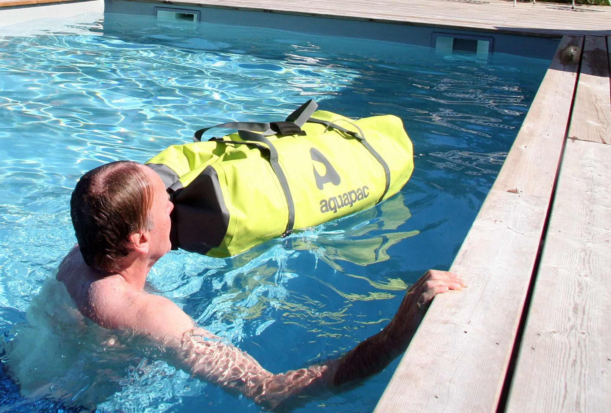 Водонепроницаемая сумка Aquapac 723 - TrailProof Duffels - 70L.. Aquapac - №1 в мире водонепроницаемых чехлов и сумок. Фото 5