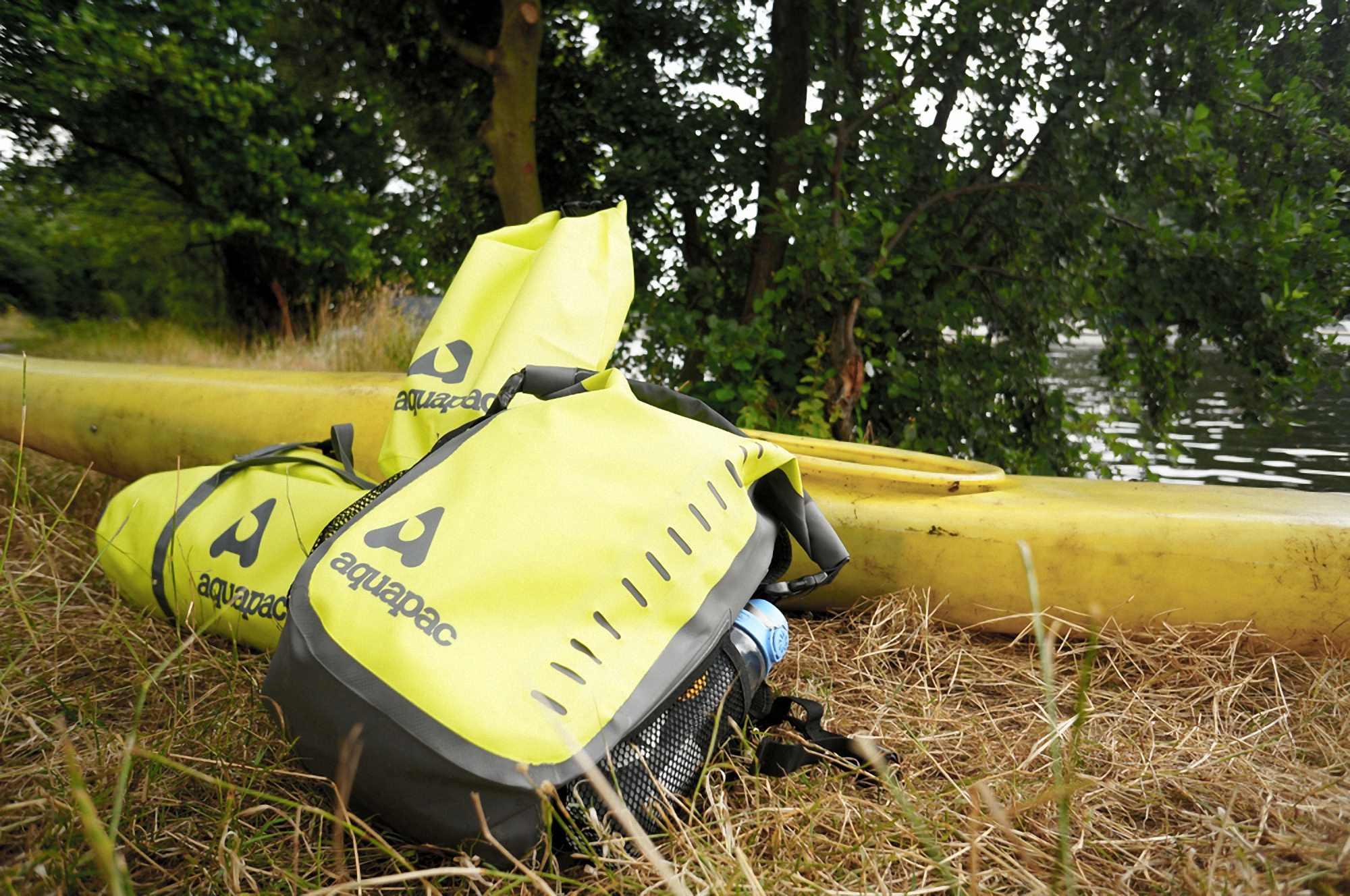 Водонепроницаемая сумка Aquapac 725 - TrailProof Duffels - 90L.. Aquapac - №1 в мире водонепроницаемых чехлов и сумок. Фото 6