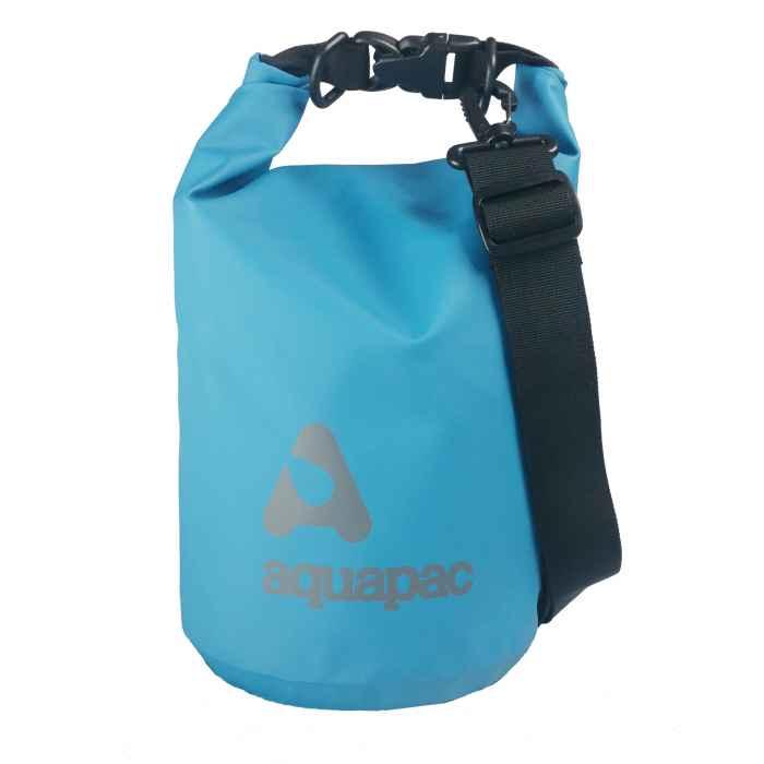 Водонепроницаемый гермомешок (с плечевым ремнем) Aquapac 732 - TrailProof™ Drybag – 7L with shoulder strap (Cool Blue)