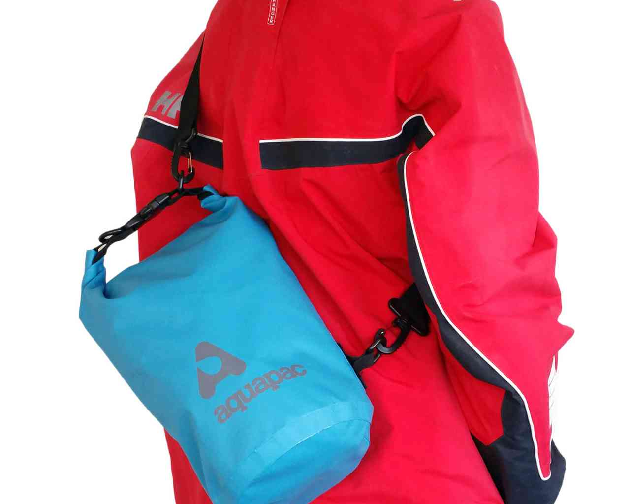 Водонепроницаемый гермомешок (с плечевым ремнем) Aquapac 732 - TrailProof™ Drybag – 7L with shoulder strap.. Aquapac - №1 в мире водонепроницаемых чехлов и сумок. Фото 2