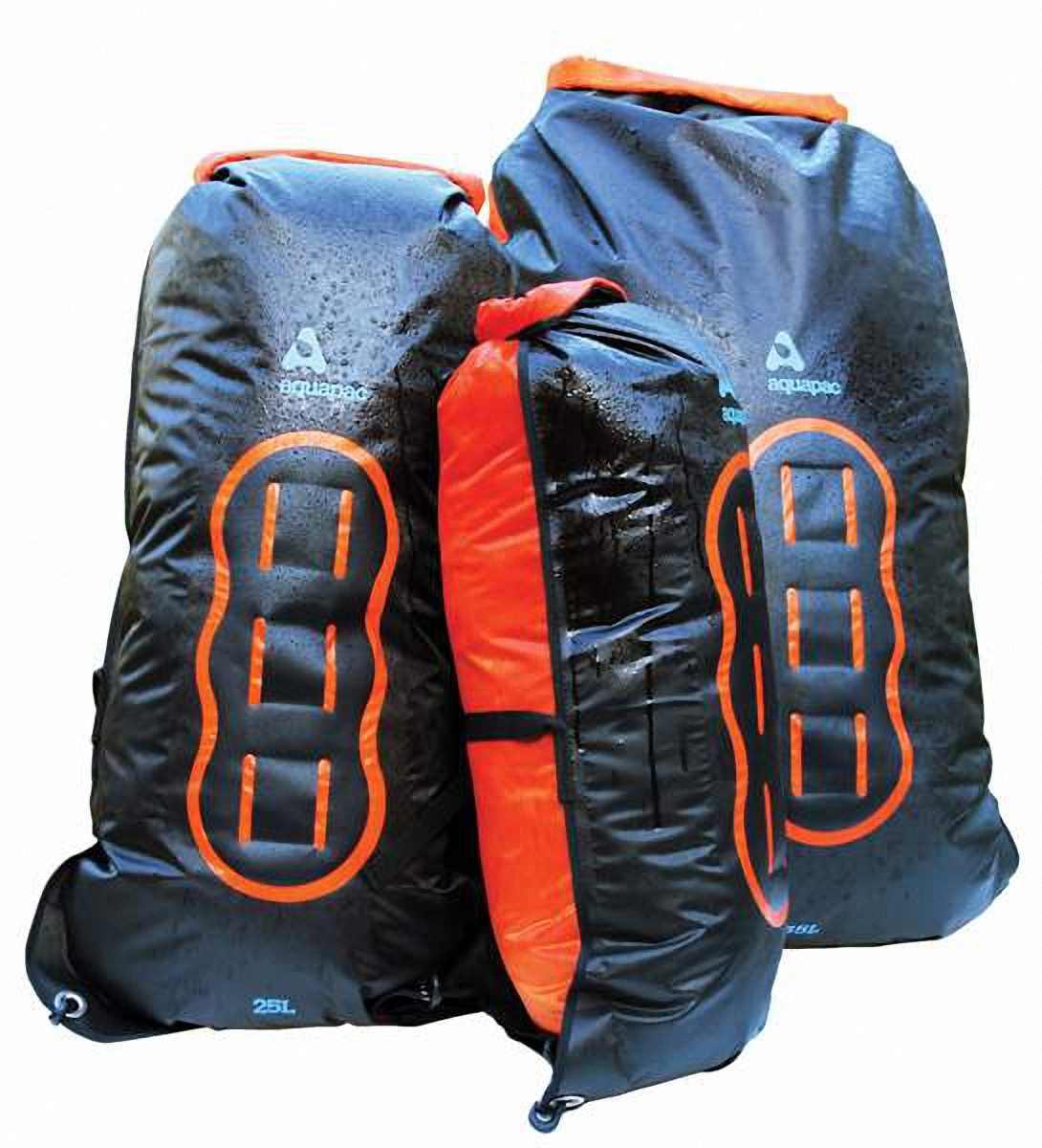 Водонепроницаемый  гермомешок-рюкзак (с двумя плечевыми ремнями) Aquapac 755 - Noatak Wet & Drybag - 35L.. Aquapac - №1 в мире водонепроницаемых чехлов и сумок. Фото 4