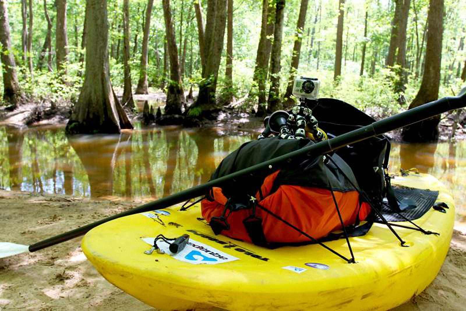 Водонепроницаемый  гермомешок-рюкзак (с двумя плечевыми ремнями) Aquapac 768 - Noatak Wet & Drybag - 15L.. Aquapac - №1 в мире водонепроницаемых чехлов и сумок. Фото 2