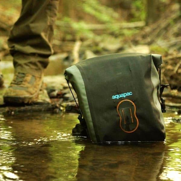 Водонепроницаемая сумка Aquapac 022 - Stormproof SLR Camera Pouch (Cool Grey)