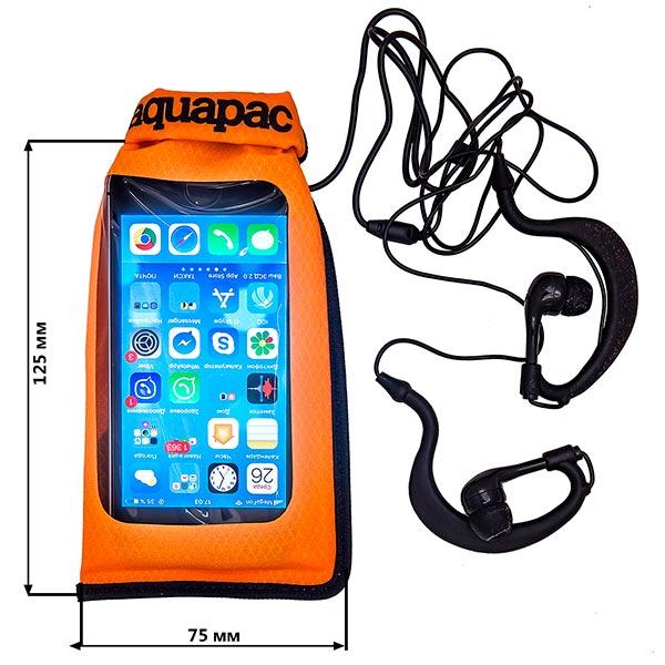 Водонепроницаемый чехол Aquapac 030 - Stormproof iPod Case (Orange)