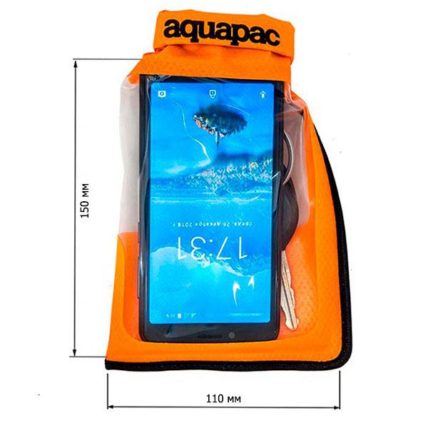 Водонепроницаемый чехол Aquapac 035 - Small Stormproof Phone Case (Orange)