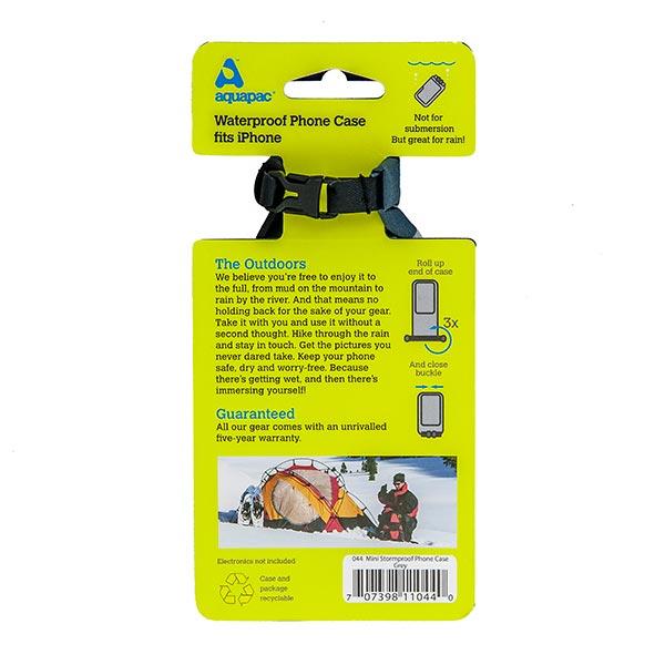 Водонепроницаемый чехол Aquapac 044 - Mini Stormproof Phone Case (Grey)