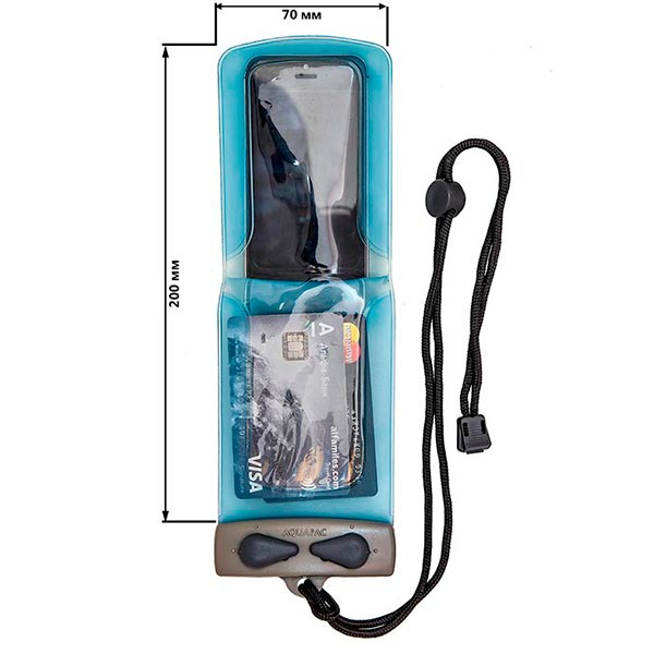 Водонепроницаемый чехол Aquapac 084 - Flip Phone Case (Light Blue)