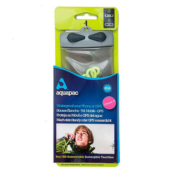 Водонепроницаемый чехол Aquapac 108 - Mini Electronics Case (Cool Grey)