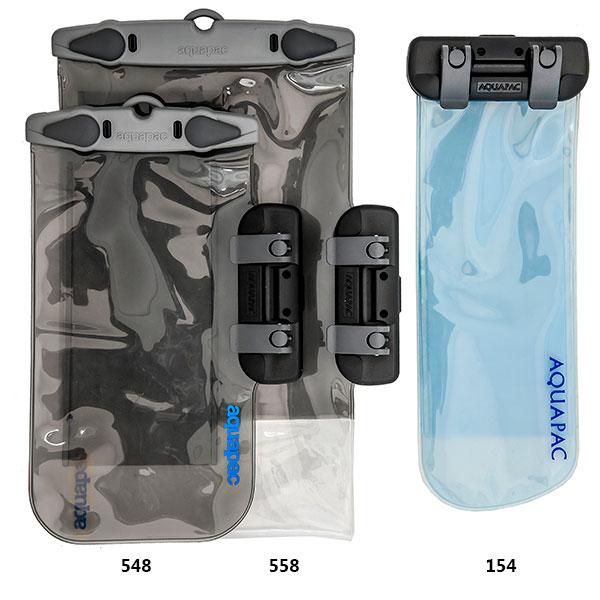 Водонепроницаемый чехол Aquapac 158 - Connected Electronics Case (Cool Grey)