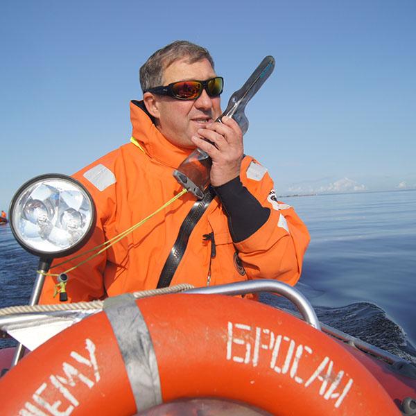 Водонепроницаемый чехол Aquapac 228 - Small VHF Classic Case (Cool Grey)