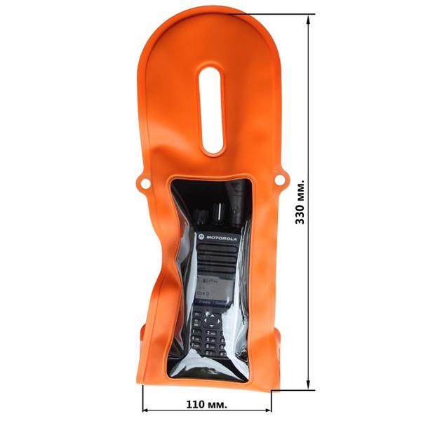 Водонепроницаемый чехол Aquapac 240 TrailProof VHF PRO Waterproof Radio Case (Orange)
