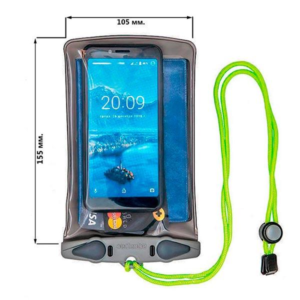 Водонепроницаемый чехол Aquapac 348 - Small Electronics Case (Cool Grey)