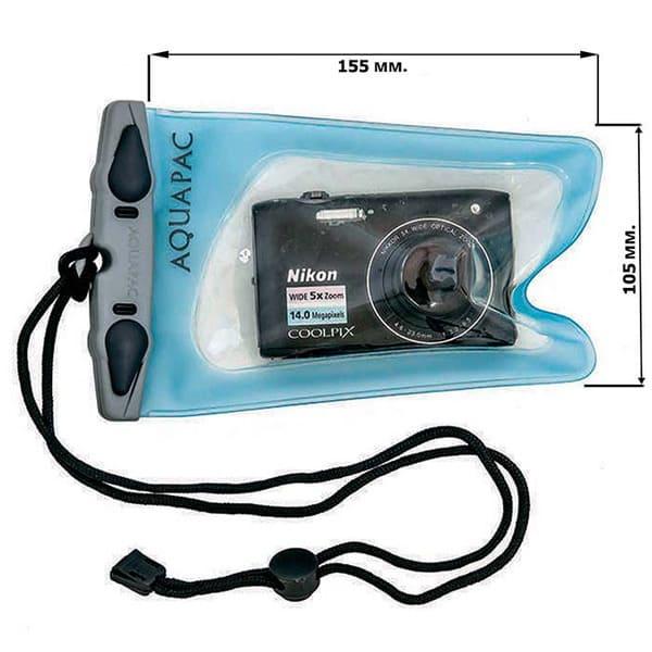 Водонепроницаемый чехол Aquapac 404 - Mini Camera Case (Light Blue)