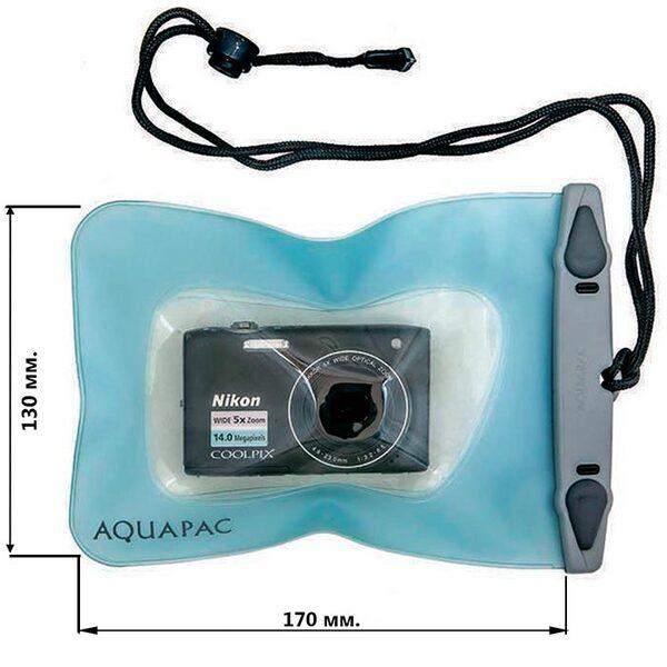 Водонепроницаемый чехол Aquapac 414 - Small Camera Case (Light Blue)