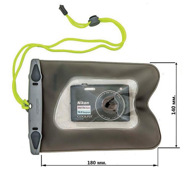 Водонепроницаемый чехол Aquapac 418 - Small Camera Case (Cool Grey)