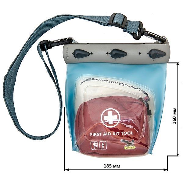 Водонепроницаемый чехол Aquapac 445 - Large Medical Case (Light Blue)