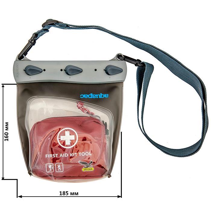 Водонепроницаемый чехол Aquapac 448 - Large Medical Case (Cool Grey)