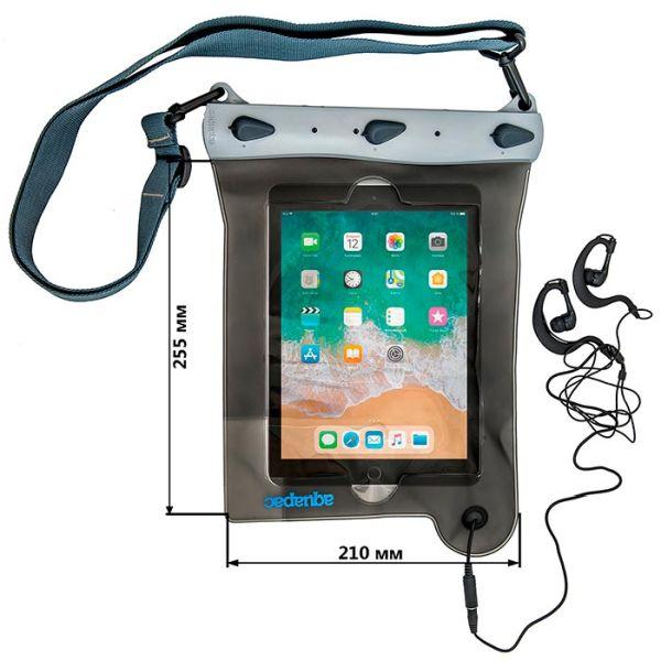 Водонепроницаемый чехол Aquapac 638 - Waterproof Case for iPad (Cool Grey)