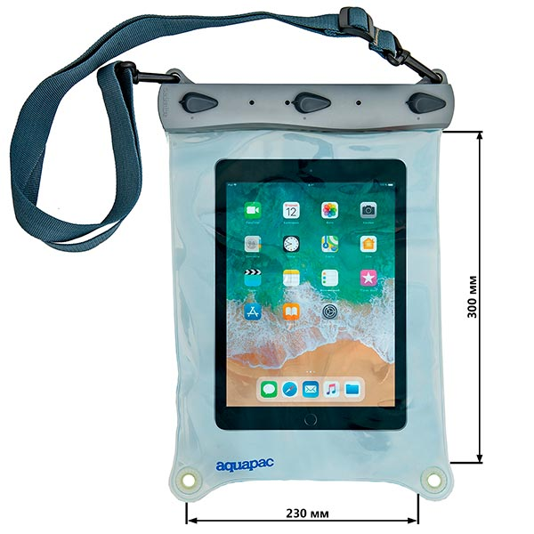 Водонепроницаемый чехол Aquapac 664 - Large Whanganui Electronics Case (Light Blue)