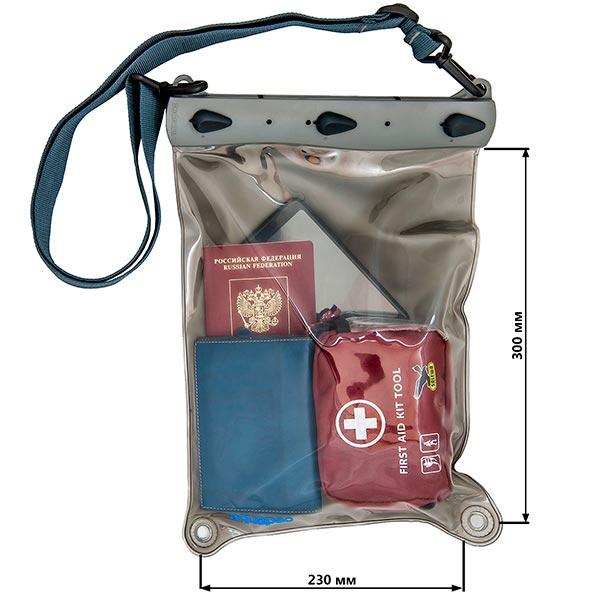 Водонепроницаемый чехол Aquapac 668 - Large Medical Case (Cool Grey)
