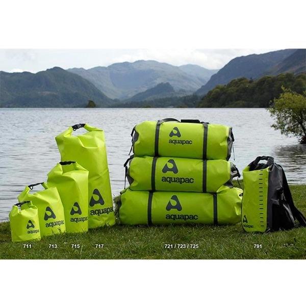 Водонепроницаемый гермомешок Aquapac 713 - TrailProof  Drybags - 15L (Acid Green)