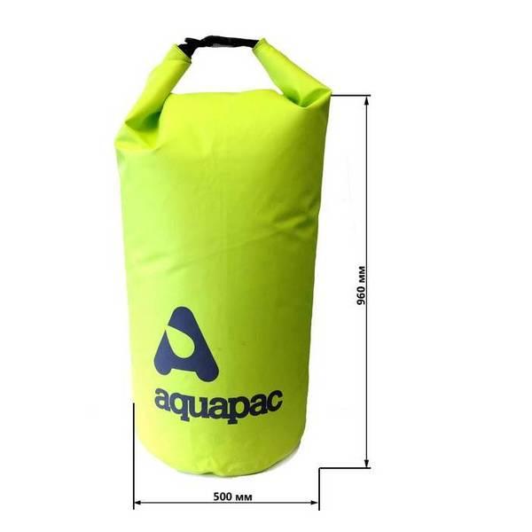 Водонепроницаемый гермомешок Aquapac 717 - TrailProof  Drybags - 70L (Acid Green)
