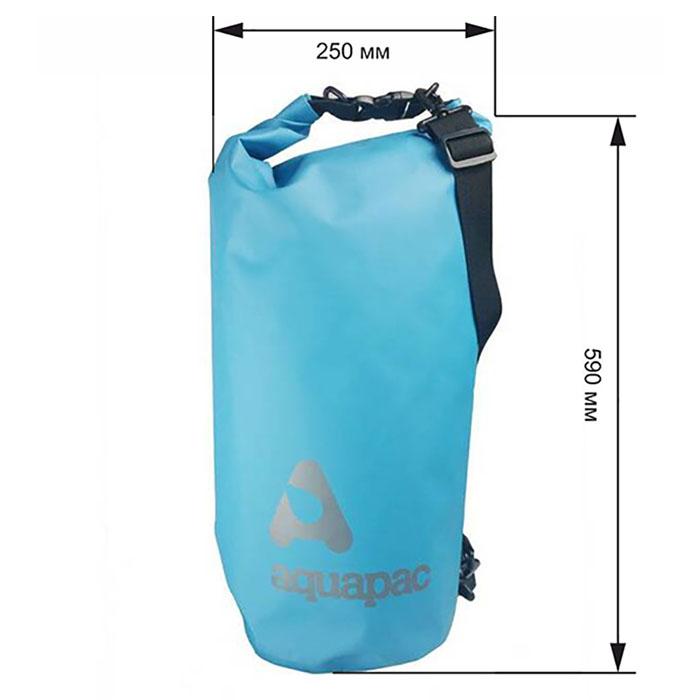 Водонепроницаемый гермомешок (с плечевым ремнем) Aquapac 736 - TrailProof™ Drybag – 25L with shoulder strap.