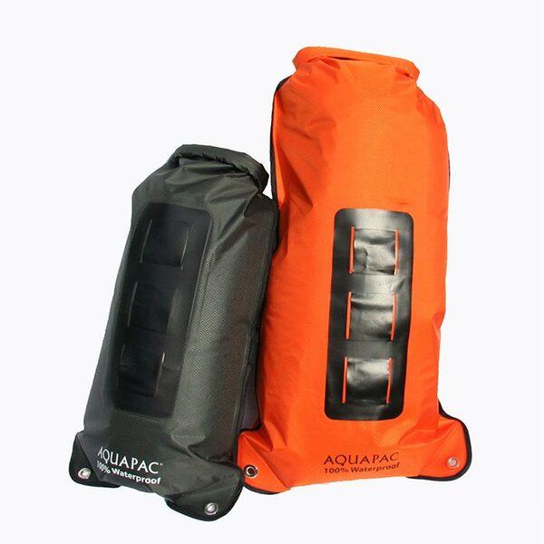 Водонепроницаемый гермомешок рюкзак (с двумя плечевыми ремнями) Aquapac 760 - Noatak Wet & Drybag - 15L (Black)