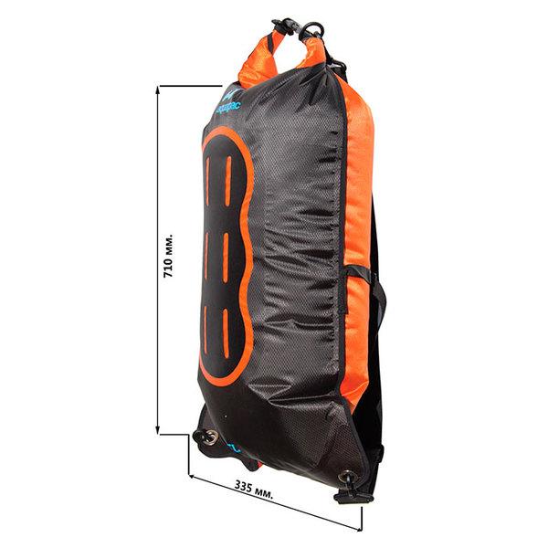 Водонепроницаемый гермомешок рюкзак (с двумя плечевыми ремнями) Aquapac 768 - Noatak Wet & Drybag - 15L (Grey)