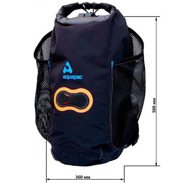 Водонепроницаемый рюкзак Aquapac 787 - Wet & Dry Backpack - 15L (Black)