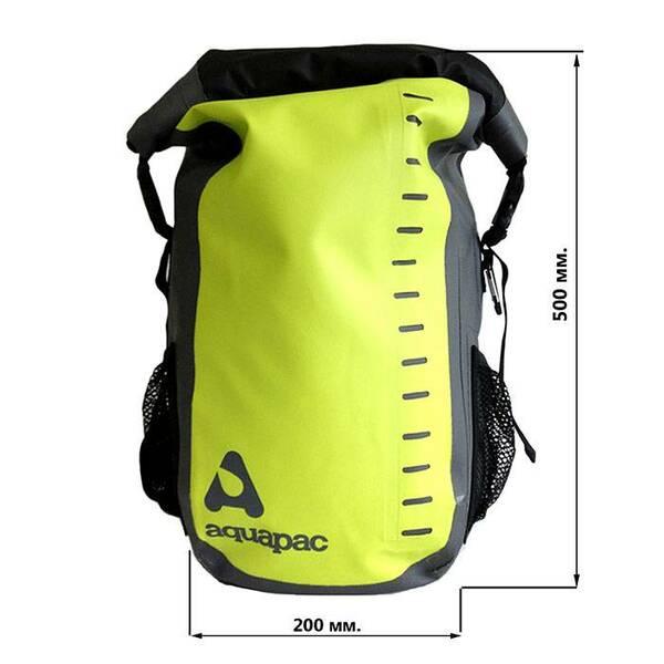 Водонепроницаемый рюкзак Aquapac 791 - Toccoa Daysack Green/Grey - 28L (Acid Green)