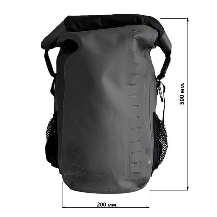Водонепроницаемый рюкзак Aquapac 793 - Toccoa Daysack Black - 28L