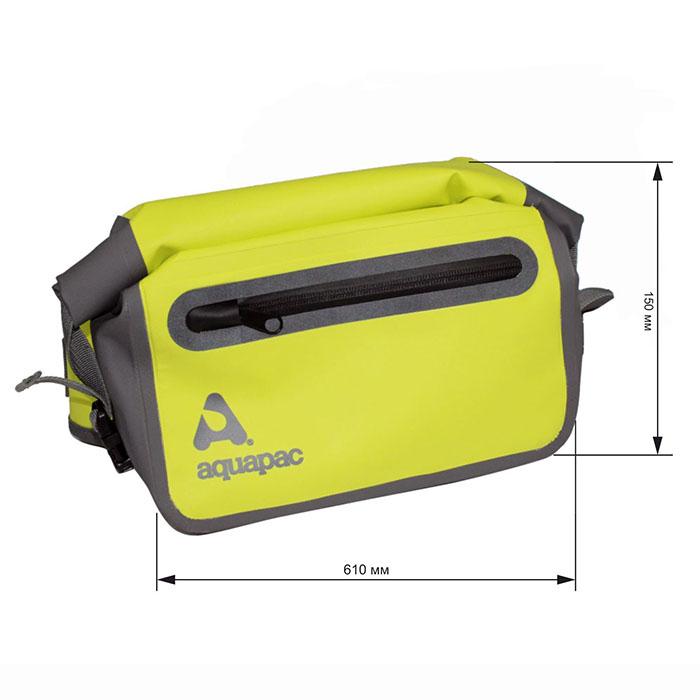 Водонепроницаемая поясная сумка Aquapac 821 - TrailProof™ Waist Pack (Acid Green)
