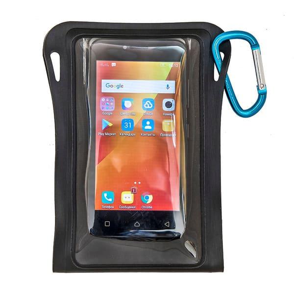 Водонепроницаемый чехол Aquapac 080 - TrailProof™ Phone Case (Matt Black)