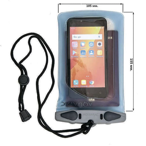 Водонепроницаемый чехол Aquapac S404 - Mini Smartphone Case (Light Blue)