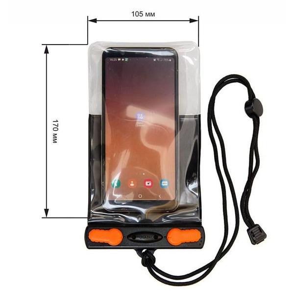 Водонепроницаемый чехол Aquapac 2001 - Aquasac Waterproof Phone Case - Black.
