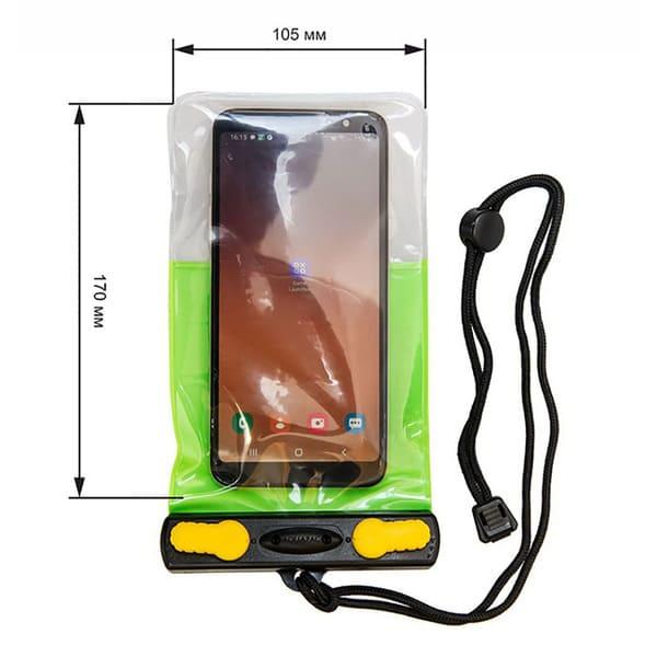 Водонепроницаемый чехол Aquasac 2003 - Aquasac Waterproof Phone Case - Green.
