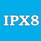 IPX8 - защита от брызг, песка, грязи, сильного дождя. Предназначен для длительного погружения на глубину более 1 метра.