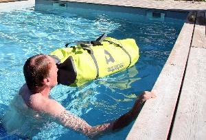 Водонепроницаемая сумка Aquapac 721 - TrailProof Duffels - 40L.. Aquapac - №1 в мире водонепроницаемых чехлов и сумок. Фото 5