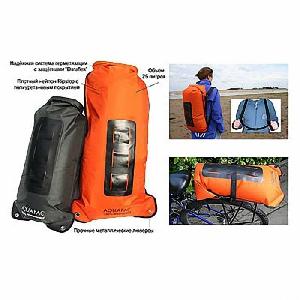 Водонепроницаемый  гермомешок-рюкзак (с двумя плечевыми ремнями) Aquapac 760 - Noatak Wet & Drybag - 15L.