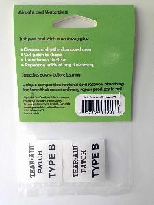 Ремкомплект Aquapac 901 - TrailProof - Puncture Patches.. Aquapac - №1 в мире водонепроницаемых чехлов и сумок. Фото 2